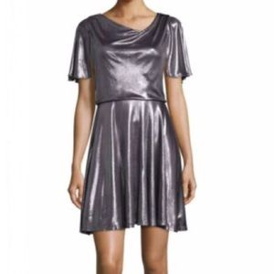 NWT Halston Heritage Asymmetrical Drape Dress